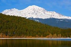 Sneeuw berg Royalty-vrije Stock Afbeelding