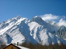 Sneeuw Berg royalty-vrije stock afbeeldingen