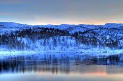Sneeuw bergen Stock Fotografie