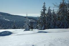 Sneeuw bergen Royalty-vrije Stock Foto's