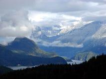 Sneeuw Bergen Royalty-vrije Stock Afbeelding