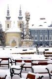 Sneeuw dag Stock Foto