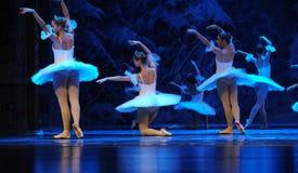 Sneeuw de elf-eerste handeling van het vierde Land van de gebiedssneeuw - de Balletnotekraker stock afbeelding