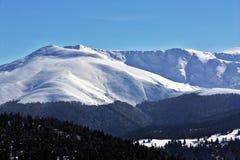 Sneeuw en bergen Royalty-vrije Stock Afbeelding