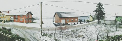 Sneeuw in evci van KriÅ ¾ Royalty-vrije Stock Afbeelding