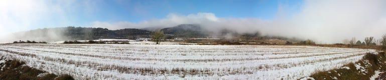 Sneeuw gebied Royalty-vrije Stock Foto