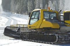 Sneeuw groomer Royalty-vrije Stock Foto's