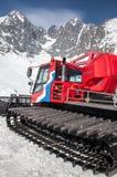 Sneeuw groomer bij toevlucht Tatranska Lomnica, Slowakije Royalty-vrije Stock Afbeeldingen