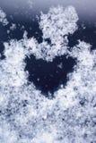 Sneeuw hert Royalty-vrije Stock Afbeeldingen