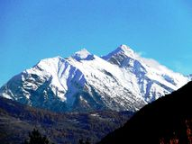 Sneeuw Italiaanse Alpen Royalty-vrije Stock Fotografie