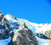 Sneeuw Italiaanse Alpen Royalty-vrije Stock Afbeelding