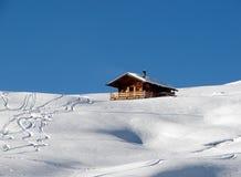 Sneeuw landschap Stock Foto