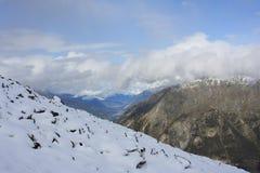 Sneeuw Landschap Royalty-vrije Stock Afbeelding