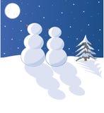 Sneeuw in Liefde Stock Afbeelding
