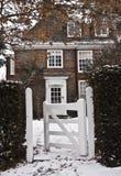 Sneeuw in Londen Stock Foto