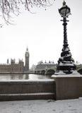 Sneeuw in Londen Royalty-vrije Stock Foto