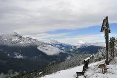 Sneeuw montain Stock Afbeelding