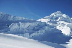 Sneeuw mountain_1 Stock Afbeeldingen