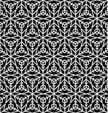 Sneeuw naadloos patroon Abstracte de winter sier geweven backg royalty-vrije illustratie