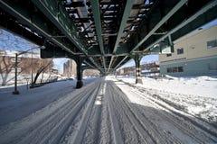 Sneeuw NYC Royalty-vrije Stock Afbeelding