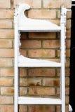 Sneeuw op een ladder Royalty-vrije Stock Fotografie