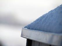 Sneeuw op het dak royalty-vrije stock foto's