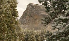 Sneeuw op Koepel Lembert royalty-vrije stock foto's
