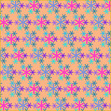 Sneeuw pattern2 Stock Foto