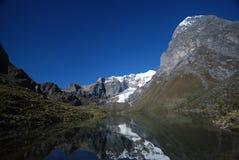 Sneeuw in Peru Royalty-vrije Stock Afbeeldingen