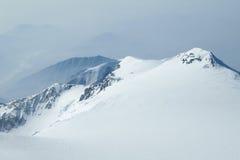 Sneeuw Pieken in het Domein van de Wildernis Denali stock foto's