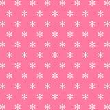 Sneeuw roze pictogram als achtergrond groot voor om het even welk gebruik Vector eps10 Stock Afbeeldingen