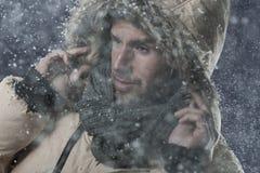 Sneeuw-vlaag stock fotografie