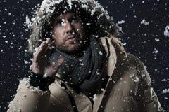 Sneeuw-vlaag royalty-vrije stock foto