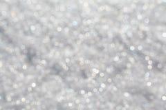 Sneeuwachtergrond Stock Afbeeldingen