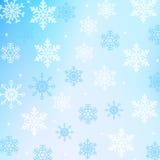 Sneeuwachtergrond Stock Afbeelding