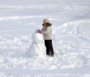 Sneeuwbal Stock Afbeelding