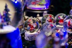 Sneeuwbal Toy Glass Ball stock foto