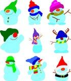 Sneeuwballen Royalty-vrije Stock Foto's