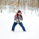 Sneeuwballen Stock Afbeeldingen