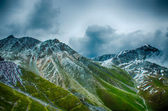 Sneeuwberg Stock Fotografie