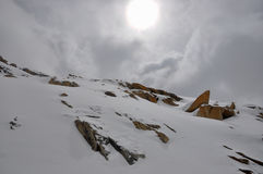 Sneeuwberg stock foto's