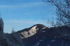 Sneeuwberg in Kaprun Royalty-vrije Stock Foto's