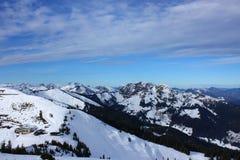 Sneeuwbergen Royalty-vrije Stock Foto