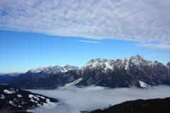 Sneeuwbergen Stock Foto's