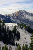 Sneeuwberghelling stock afbeelding