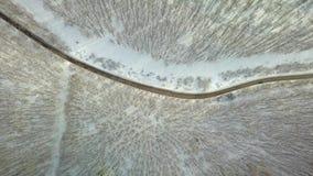 Sneeuwbergweg stock videobeelden