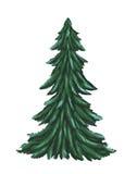 Sneeuwchristmass tree2 Royalty-vrije Stock Afbeelding