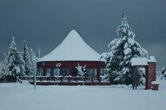 sneeuwdag Stock Foto