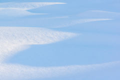 Sneeuwdetails royalty-vrije stock foto