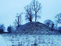 Sneeuwheuvel stock foto